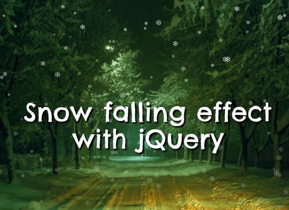 jquery-snow